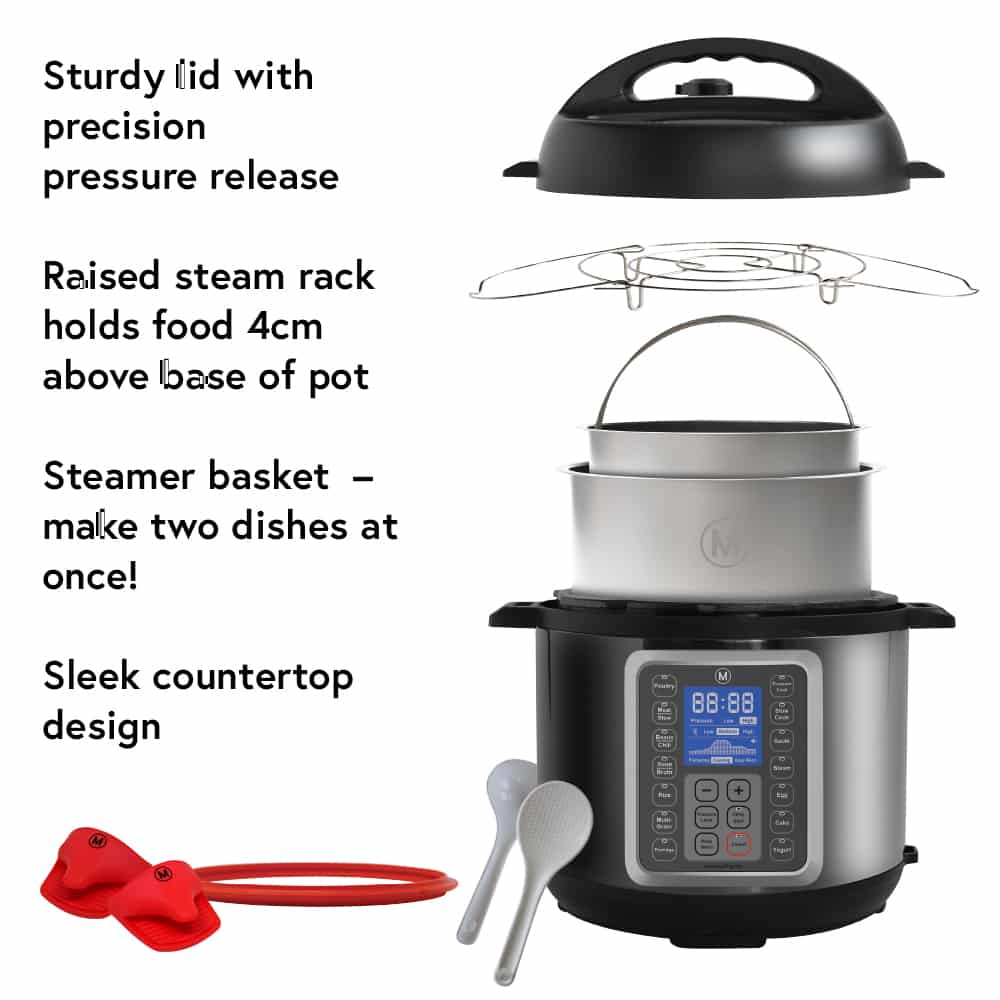 Mealthy MultiPot Comes with a Steamer Basket