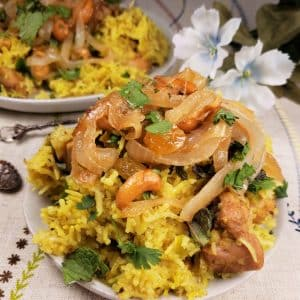 Best of Both Worlds Cooker Chicken Biryani