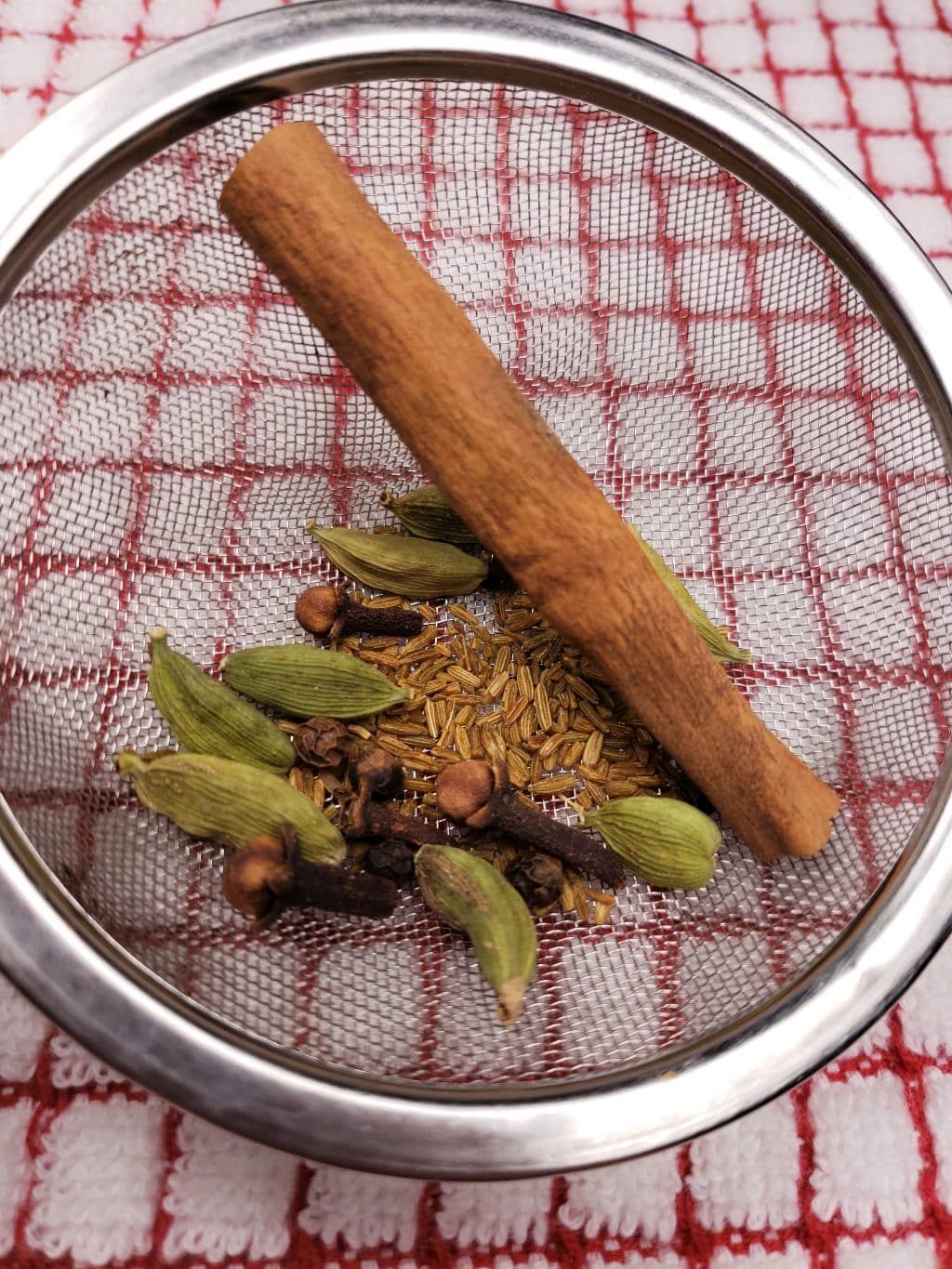 Tea Ball with Indian Spices