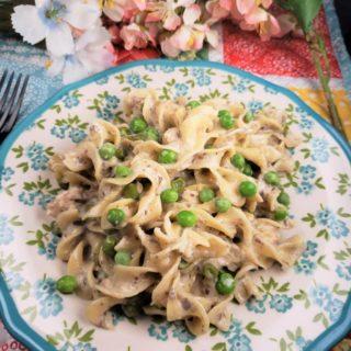 Instant Pot Tuna Noodle Casserole
