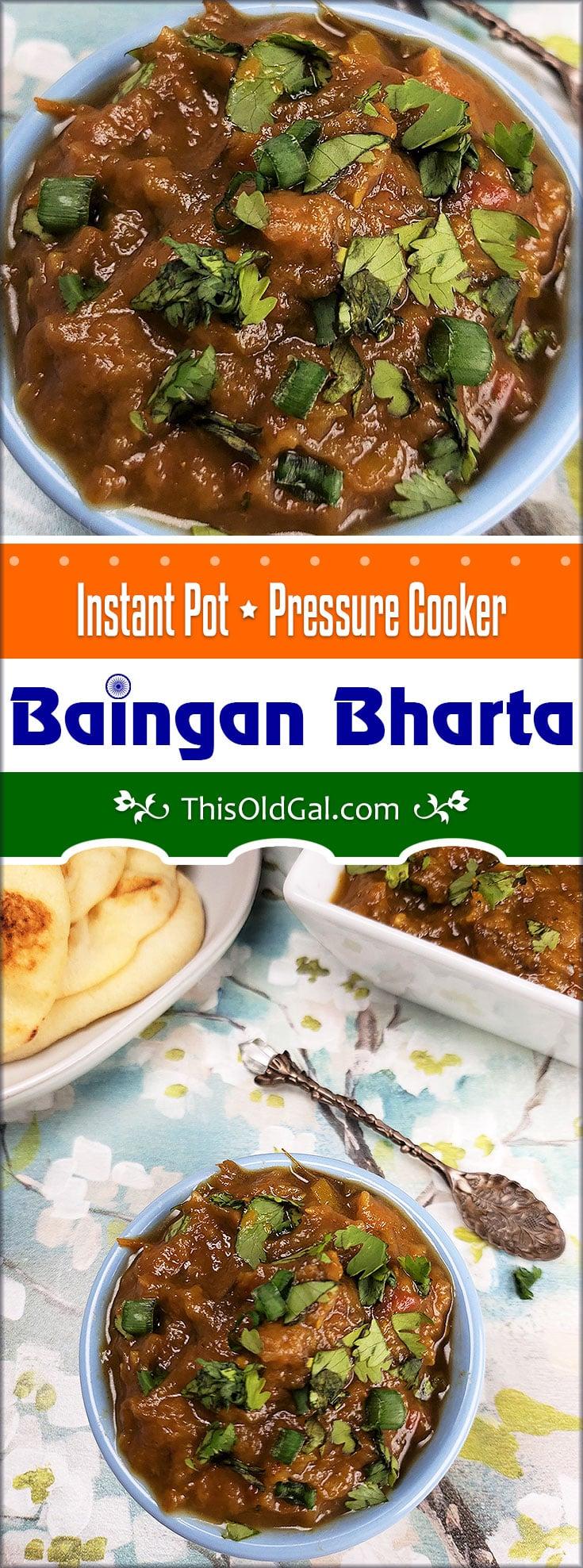 Instant Pot Pressure Cooker Baingan Bharta Mealthy Pot