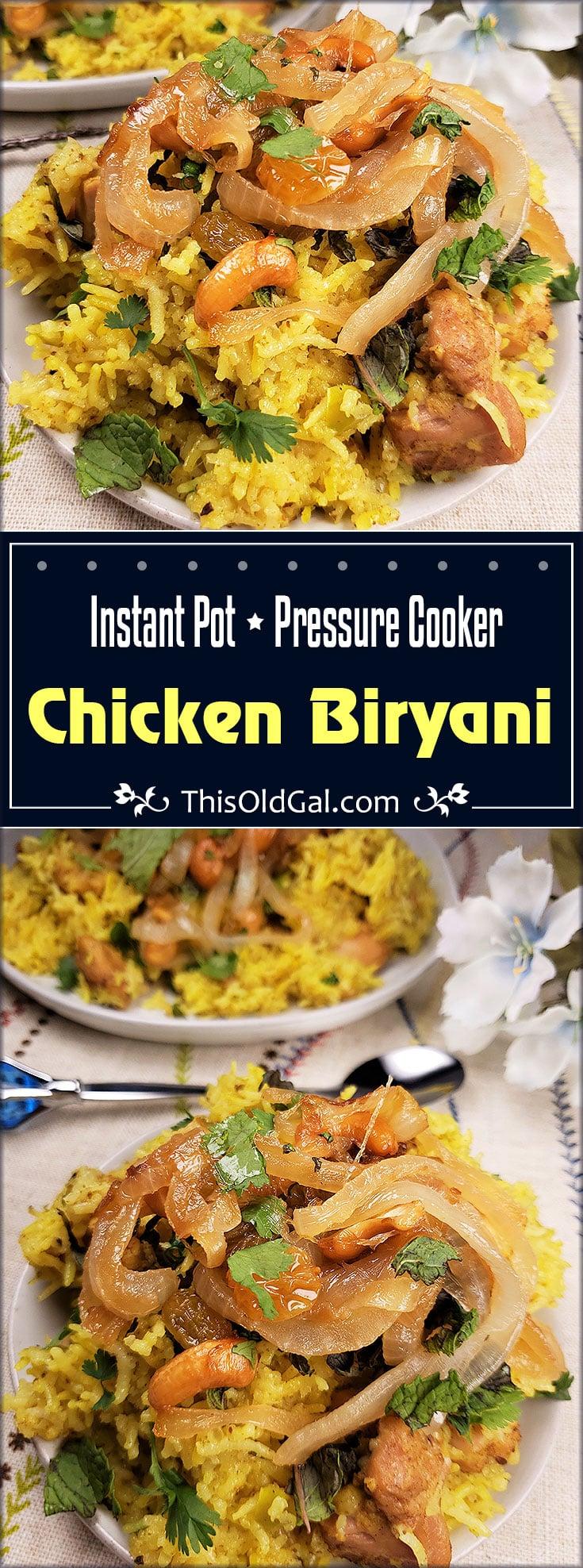Restaurant Quality Pressure Cooker Chicken Biryani!