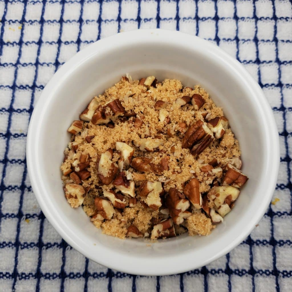 Pecan Brown Sugar Topping
