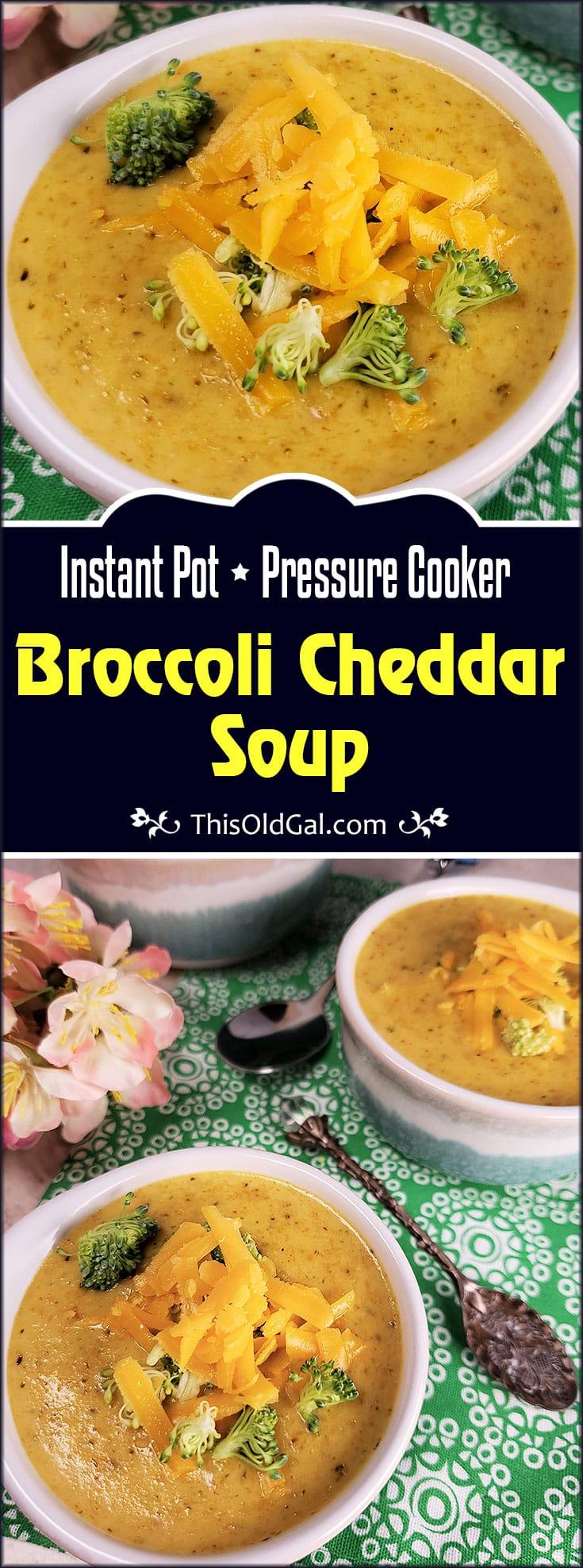 Panera Bread copycat Broccoli Cheddar Soup