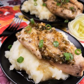Pressure Cooker Jalapeno Honey Chicken w/Garlic Mashed Potatoes