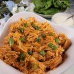Instant Pot Pressure Cooker Shredded Buffalo Chicken
