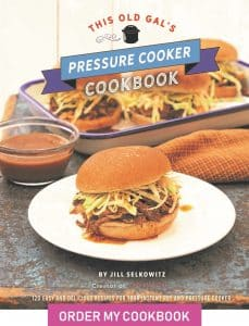 This Old Gals Pressure Cooker Cookbook Cover