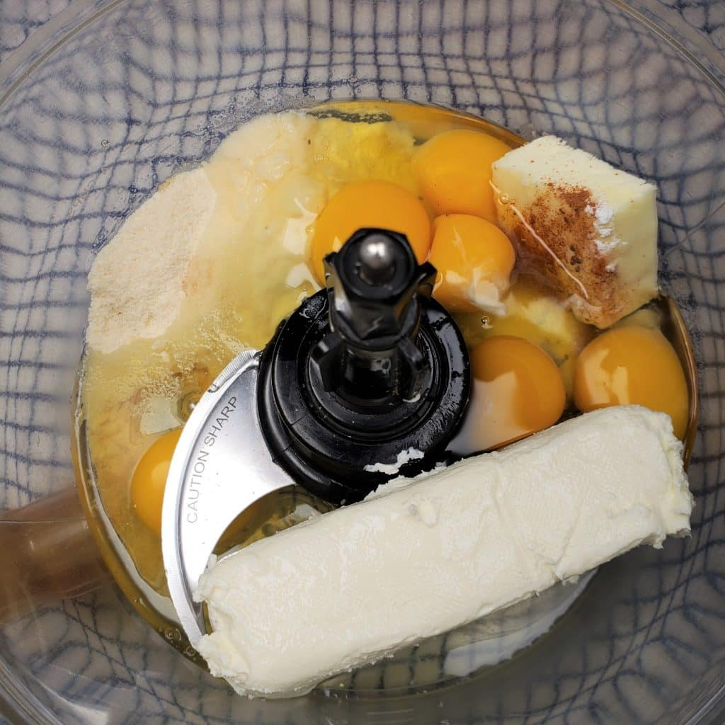 Mix Ingredients in Food Processor