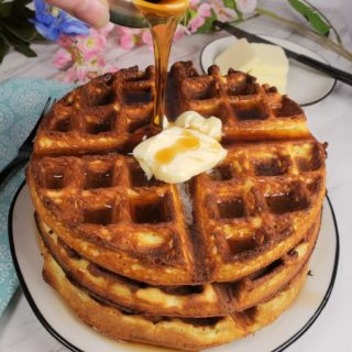 Delicious Low Carb Belgian Waffles