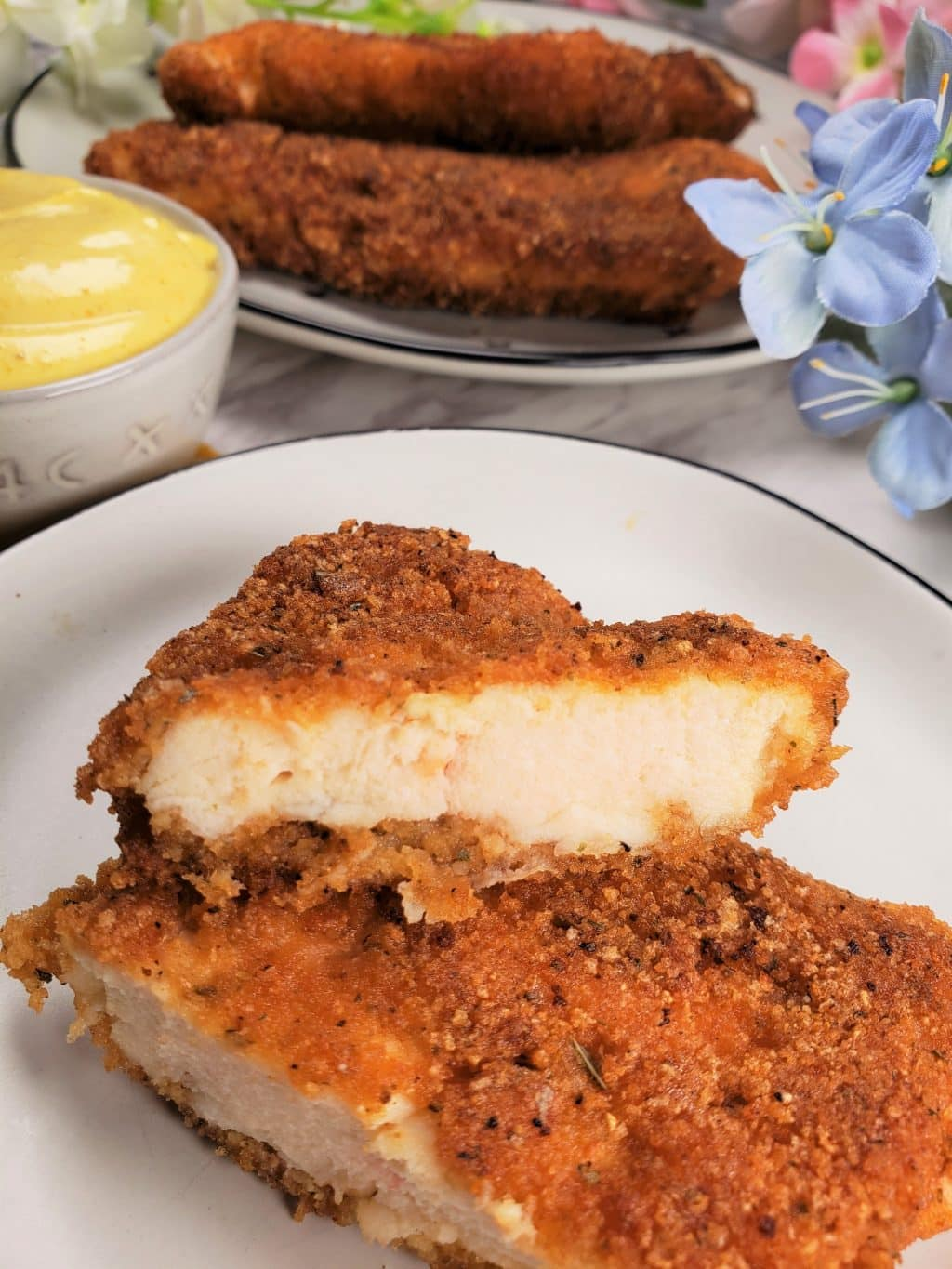 Low Carb Chicken Schnitzel