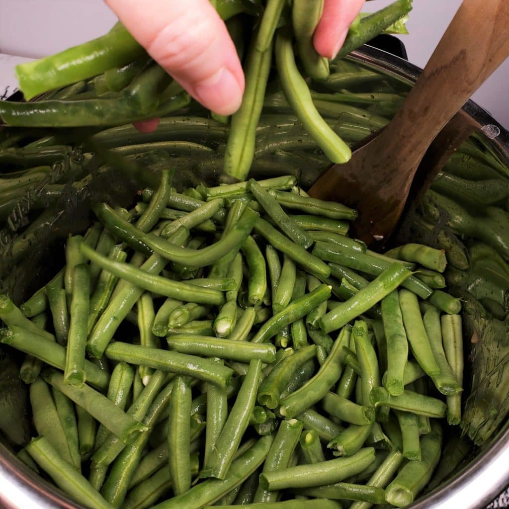 Coat Green Beans in Bacon Grease Broth