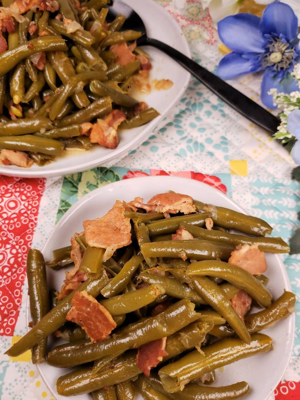 Pressure Cooker Southern Style Green Beans