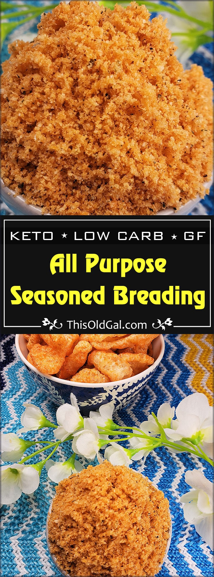 Keto All Purpose Low Carb Seasoned Breading