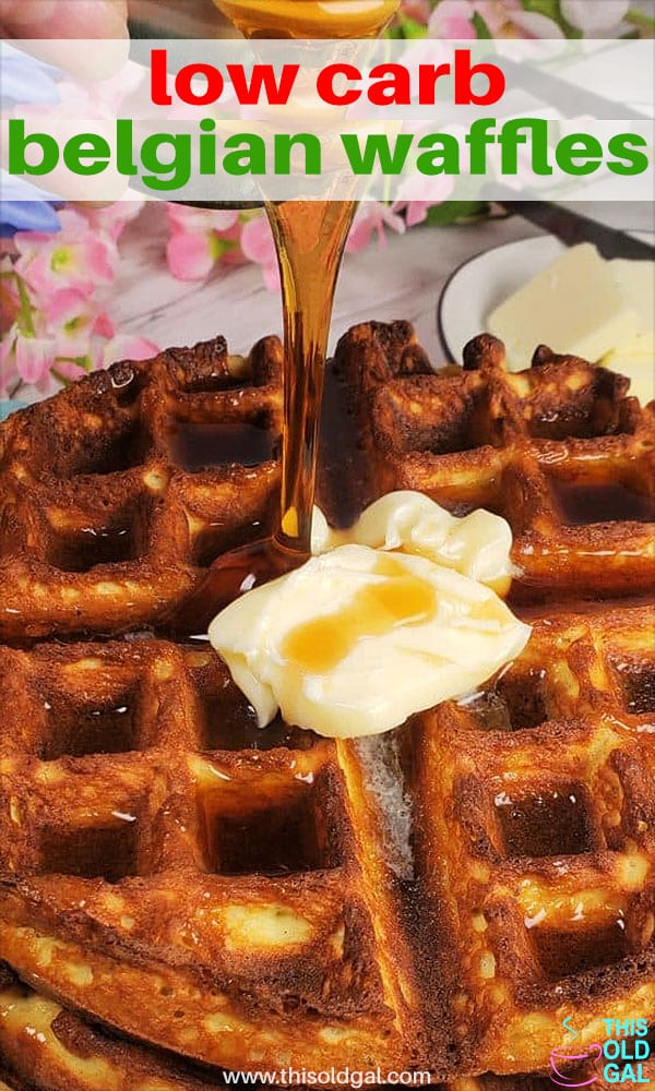 Low Carb Belgian Waffles Keto w/Coconut Flour