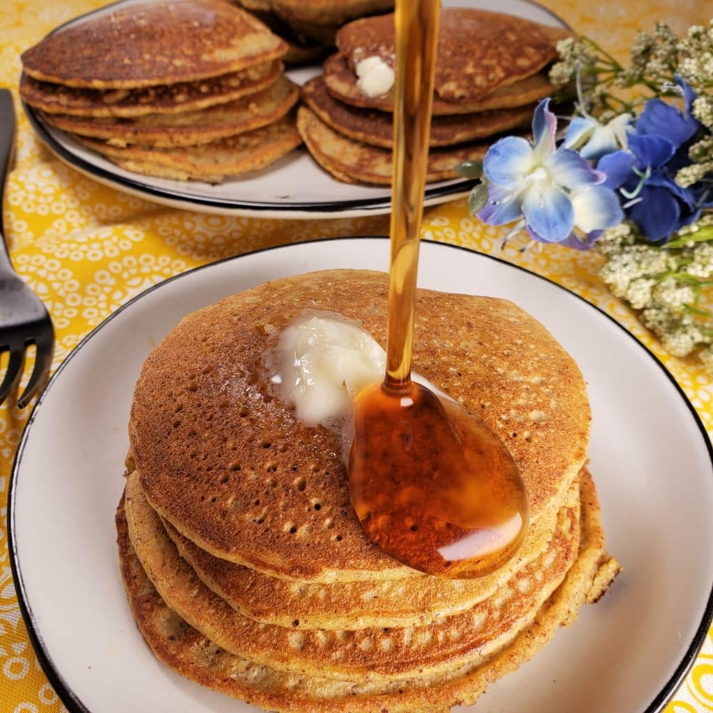 Keto Low Carb Pancakes with Squash