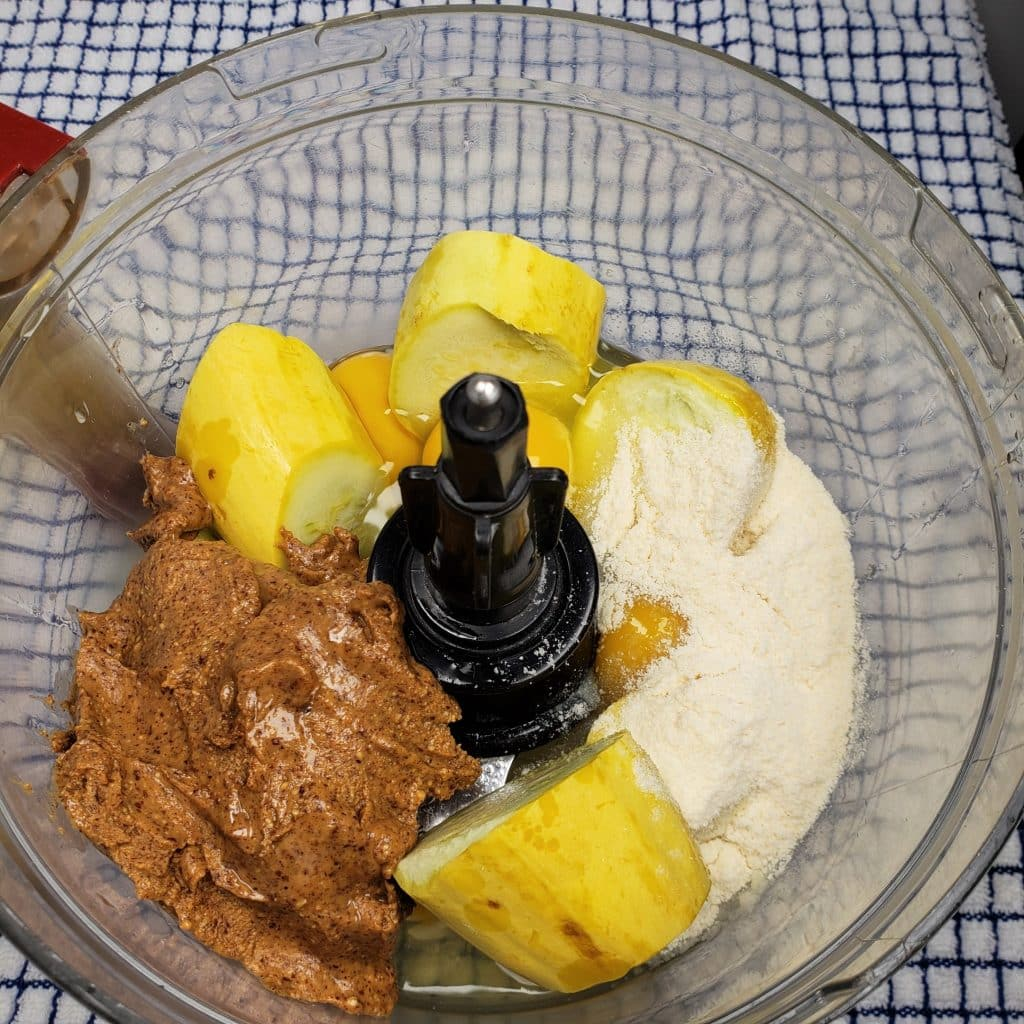 All Ingredients in Food Processor