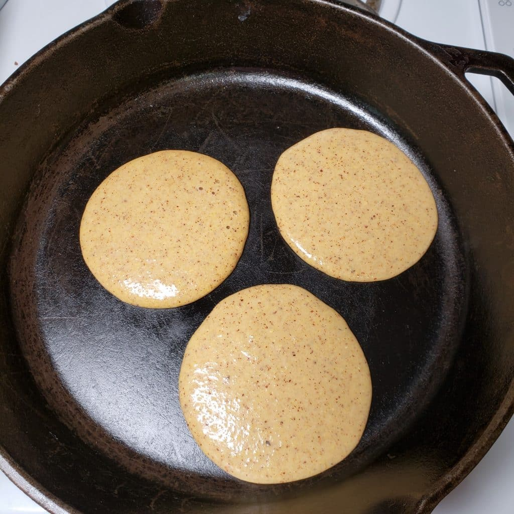 Pancakes in the Skillet
