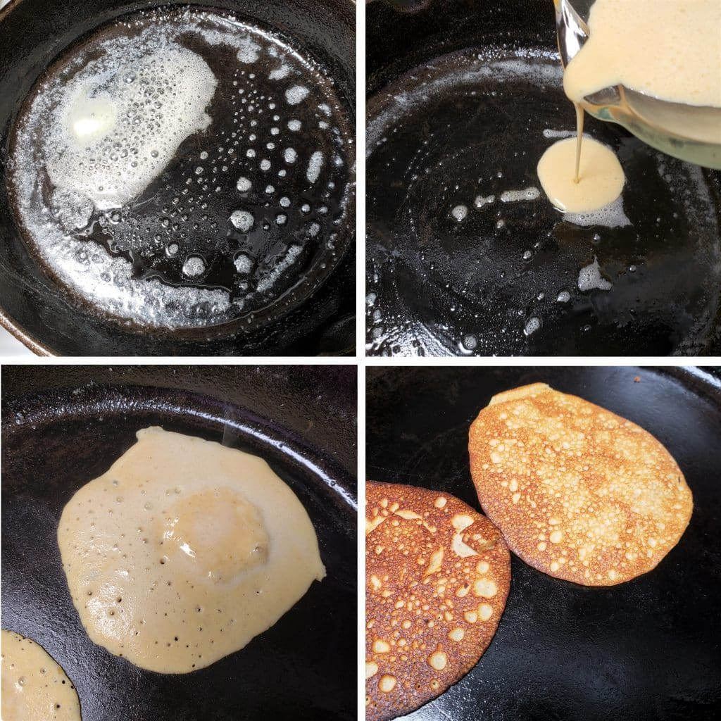 Cook the Pancakes / Crepes