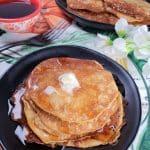 Keto Pumpkin Cheesecake Pancakes