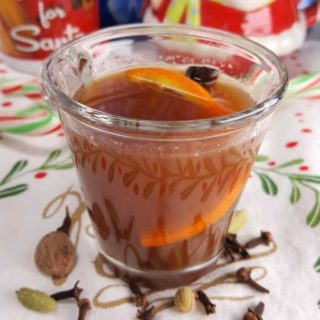 Pressure Cooker Hot Mulled Cider Wassail