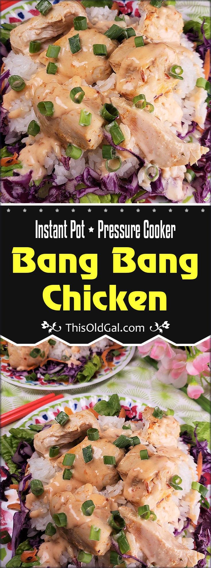 Instant Pot Pressure Cooker Bang Bang Chicken