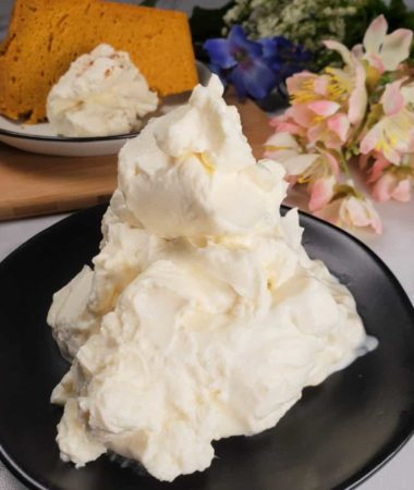 Homemade Butterscotch Whipped Cream