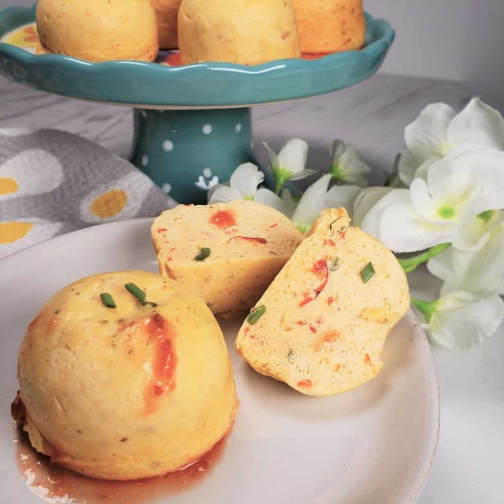 Instant Pot Greek Egg Bites with Feta & Peppers