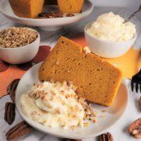 Instant Pot Pumpkin Butterscotch Cake w/Butterscotch Whipped Cream