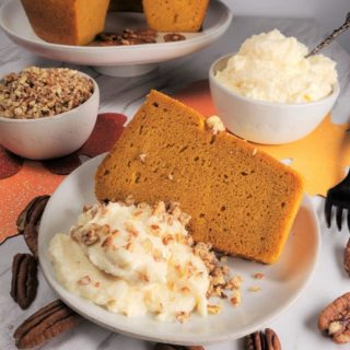 Instant Pot Pumpkin Bundt Cake w/Butterscotch