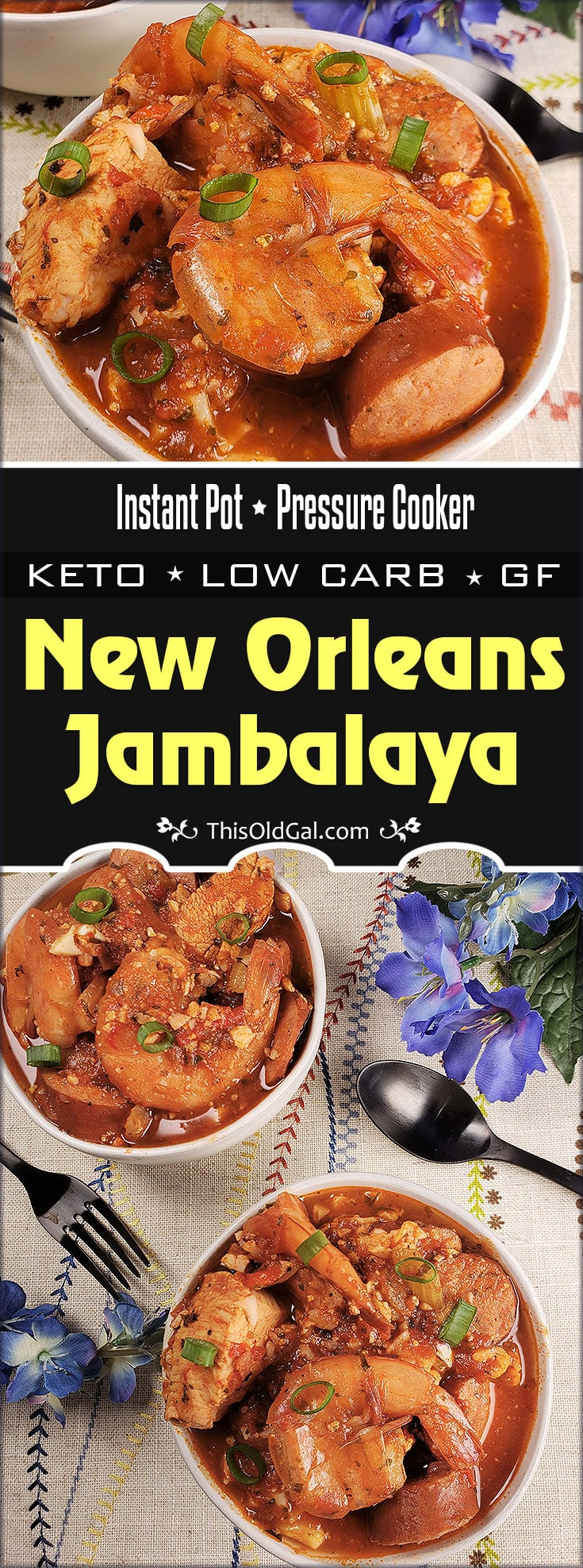 Pressure Cooker Creole New Orleans Jambalaya