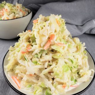 Easy Coleslaw Recipe (a/k/a Cole Slaw)