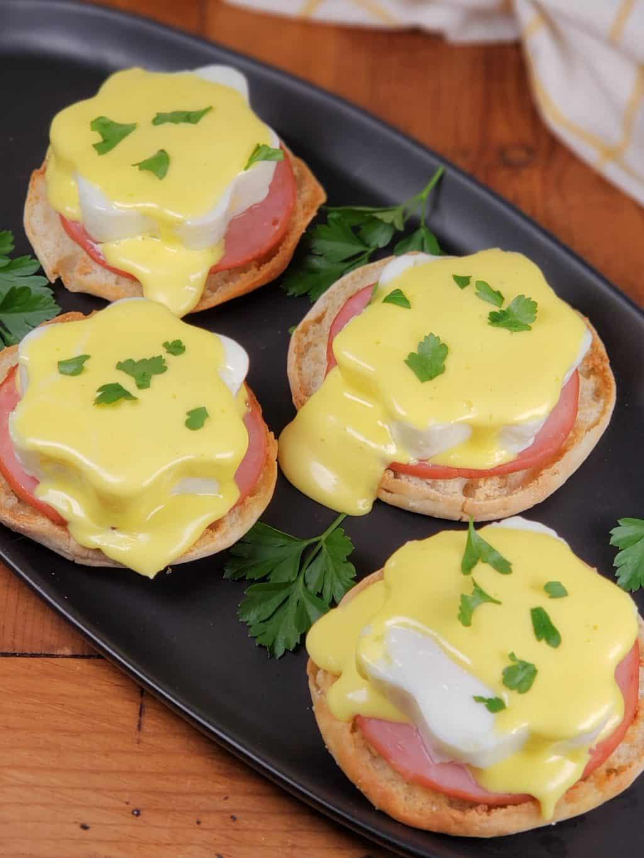 Instant Pot Eggs Benedict