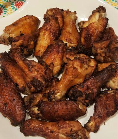 Air Fryer Garlic Ranch Wings