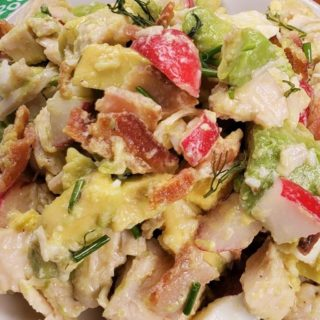 Instant Pot Low Carb Avocado Chicken Salad