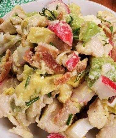 Instant Pot Low Carb Avocado Chicken Salad