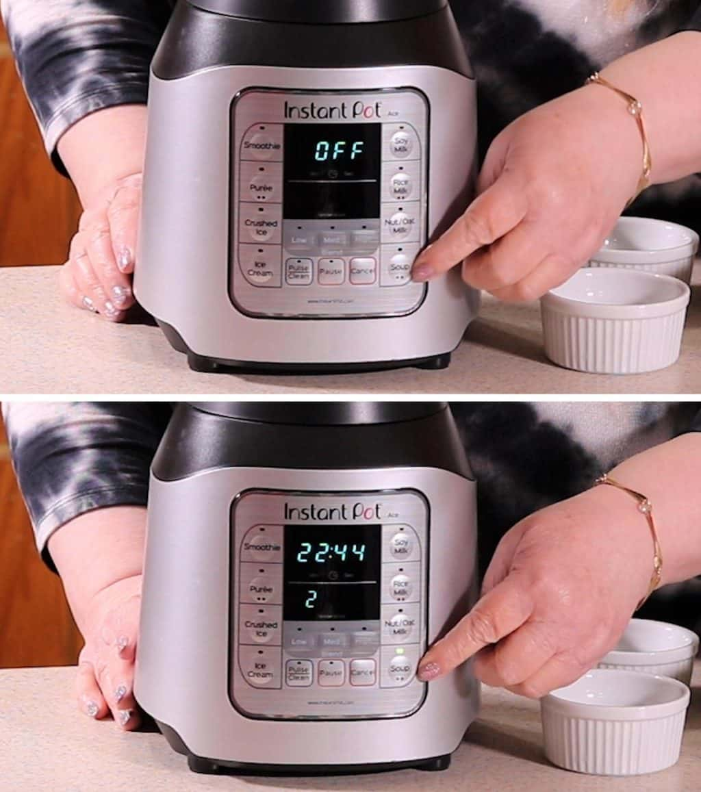 Instant Pot ACE has TWO Soup Functions