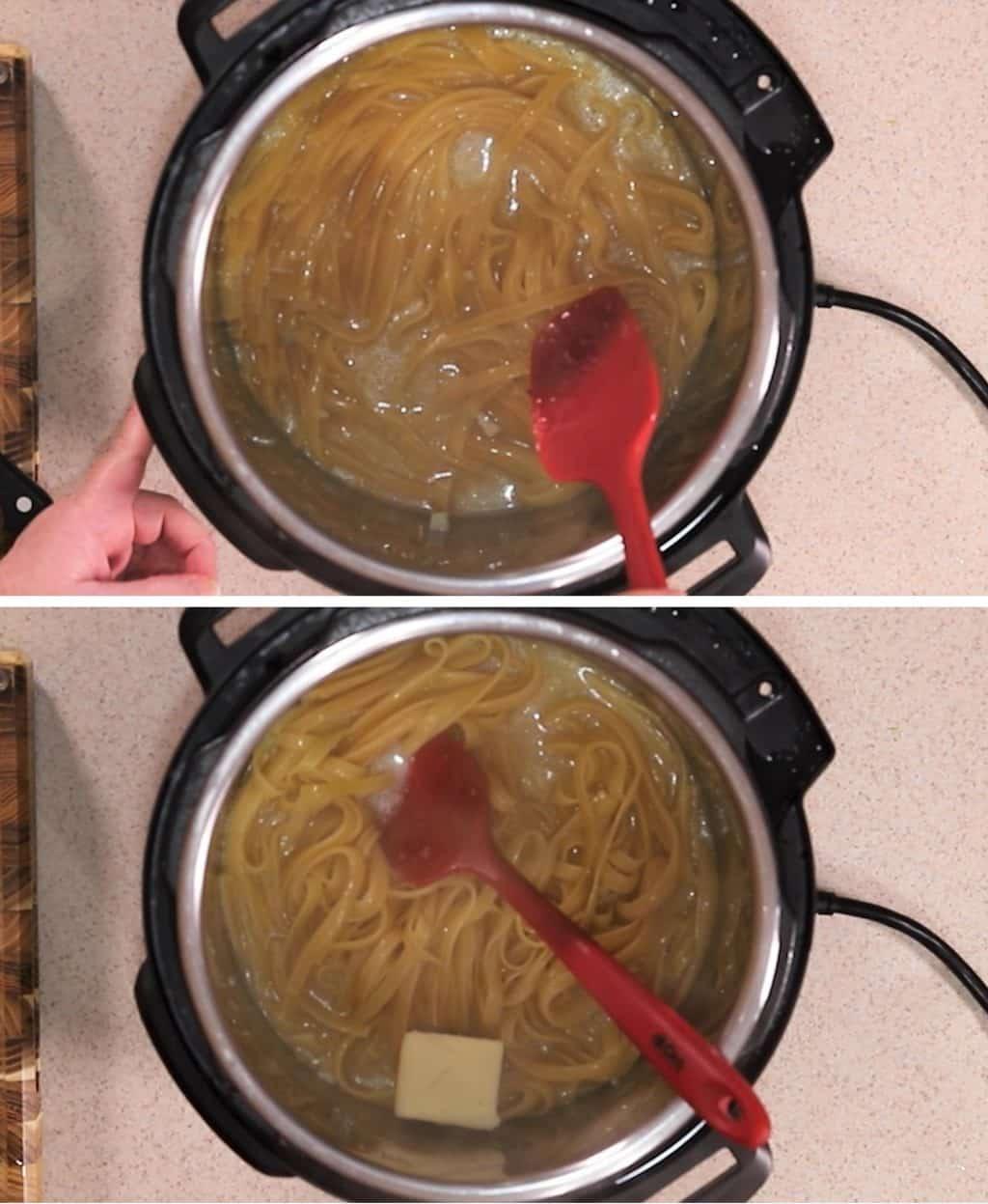 Make the Greek Lemon Butter Sauce