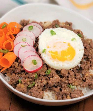 Instant Pot Korean Beef Bowls