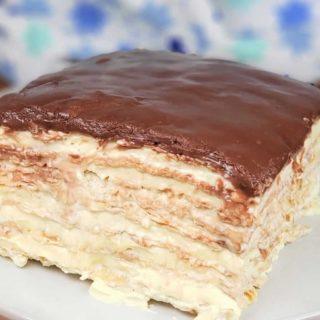 Passover Matzo Icebox Cake