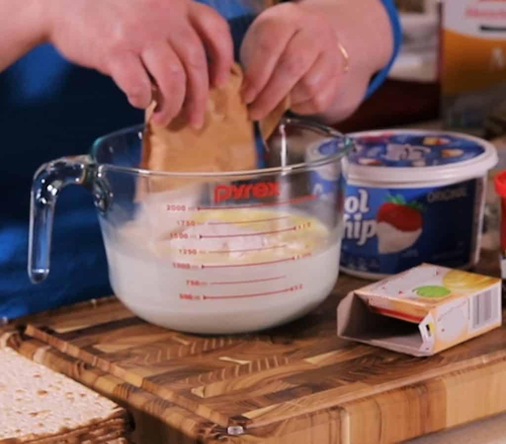 Dump in Vanilla Instant Pudding