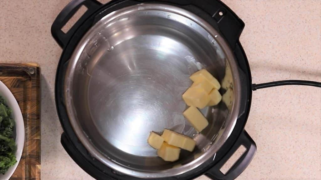 Butter is Used to Sauté the Kale