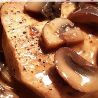 Pressure Cooker Pork Chops In Homemade Mushroom Gravy