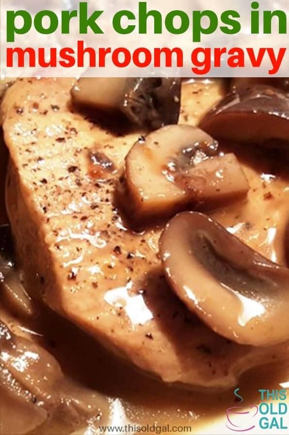 Pressure Cooker Pork Chops In Homemade Mushroom Gravy