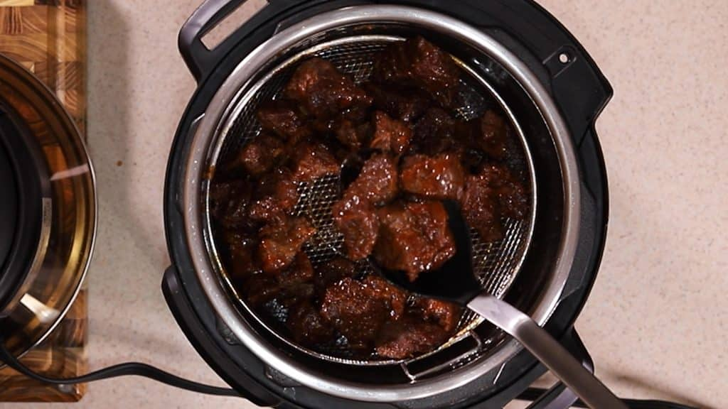 The Burnt Ends are Cooked at a Low Temperature