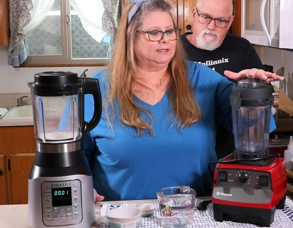 Combine Dry Ingredients in Ace Blender