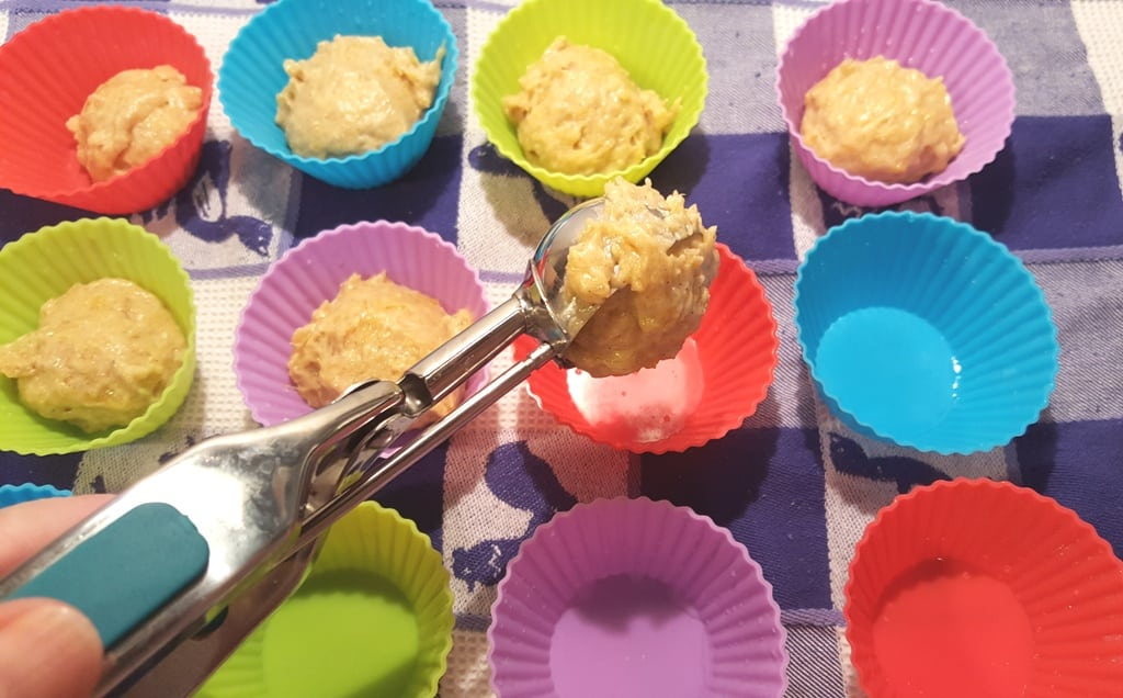 Divide Muffin Batter Into Mini Muffin Cups