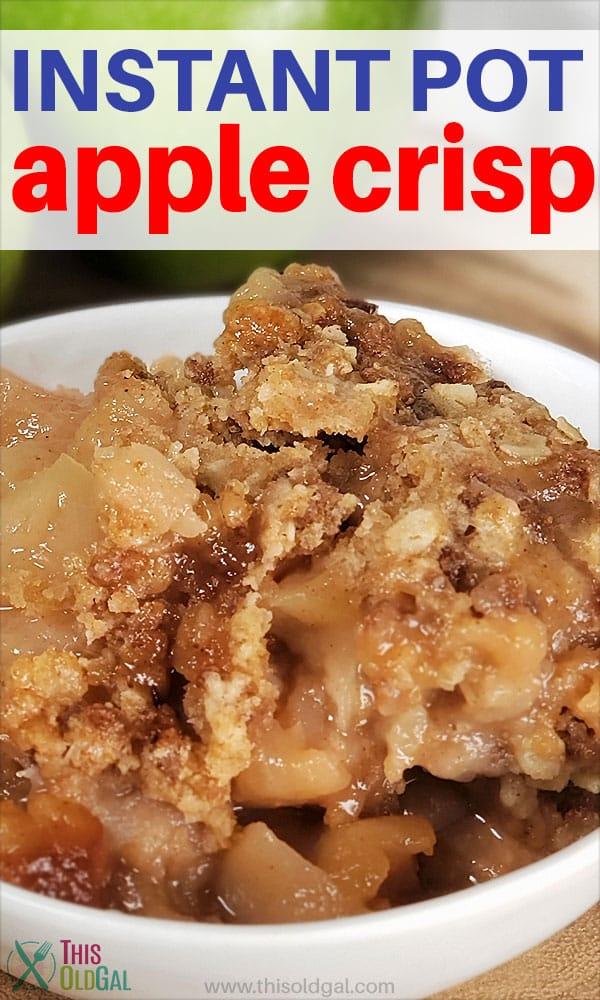 Instant Pot Pressure Cooker Apple Crisp
