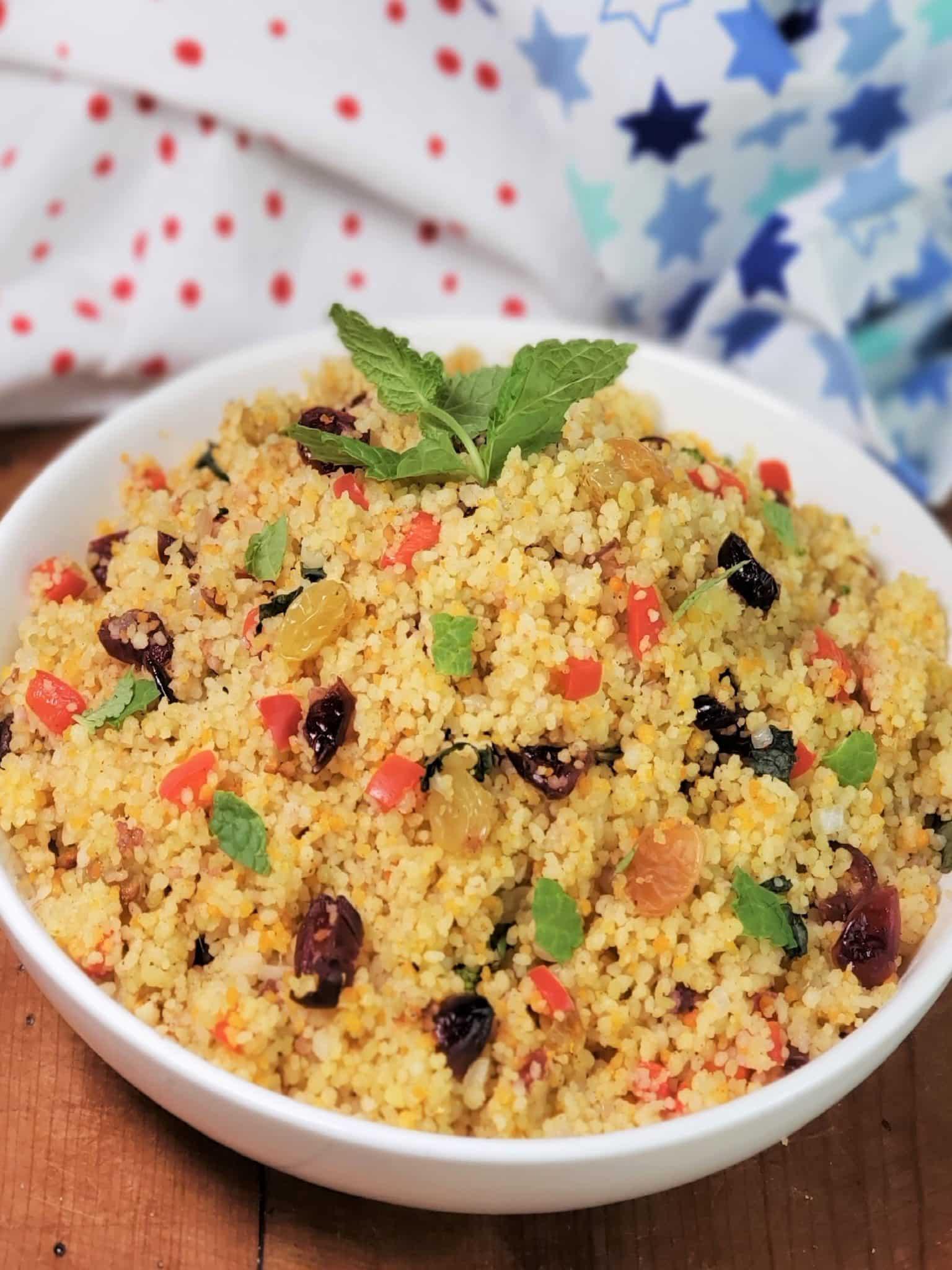 Instant Pot Cranberry Spice Couscous