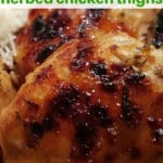 Pressure Cooker Apricot Glazed Herb Chicken [Instant Pot]