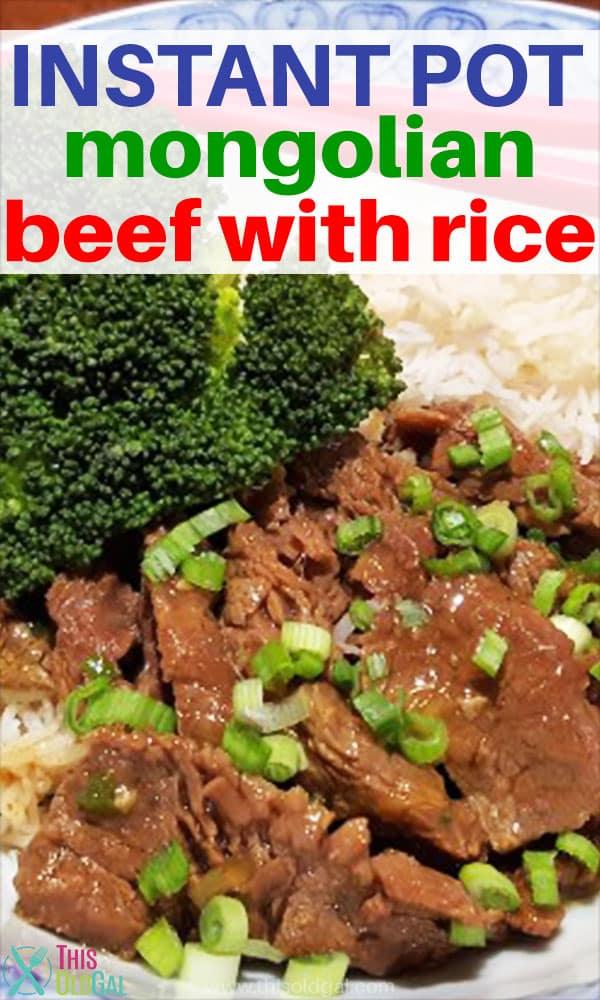 Pressure Cooker Mongolian Beef [Instant Pot]